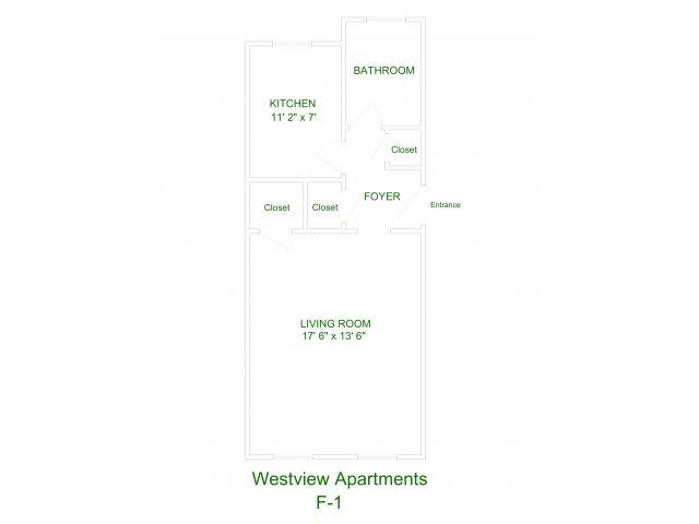 Westview Apartment F1