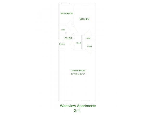 Westview Apartment G1