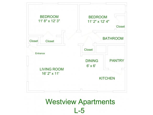Westview Apartment L5