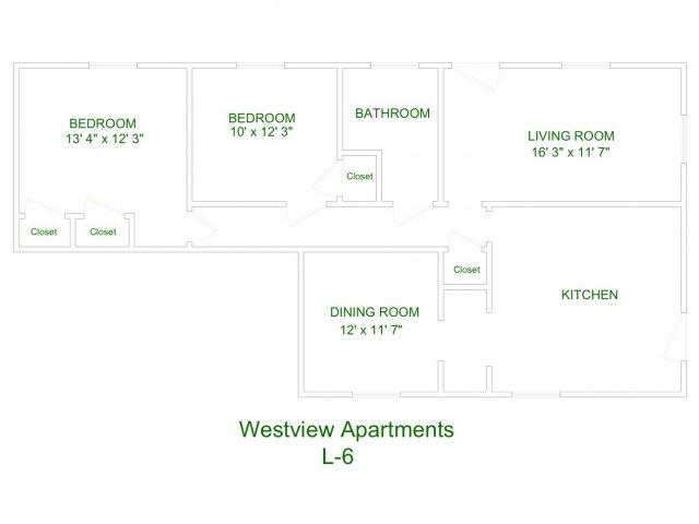 Westview Apartment L6