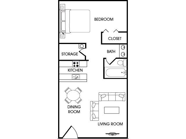 1 Bed 1 Bath Apartment in Flagstaff AZ Aspen Leaf Flagstaff