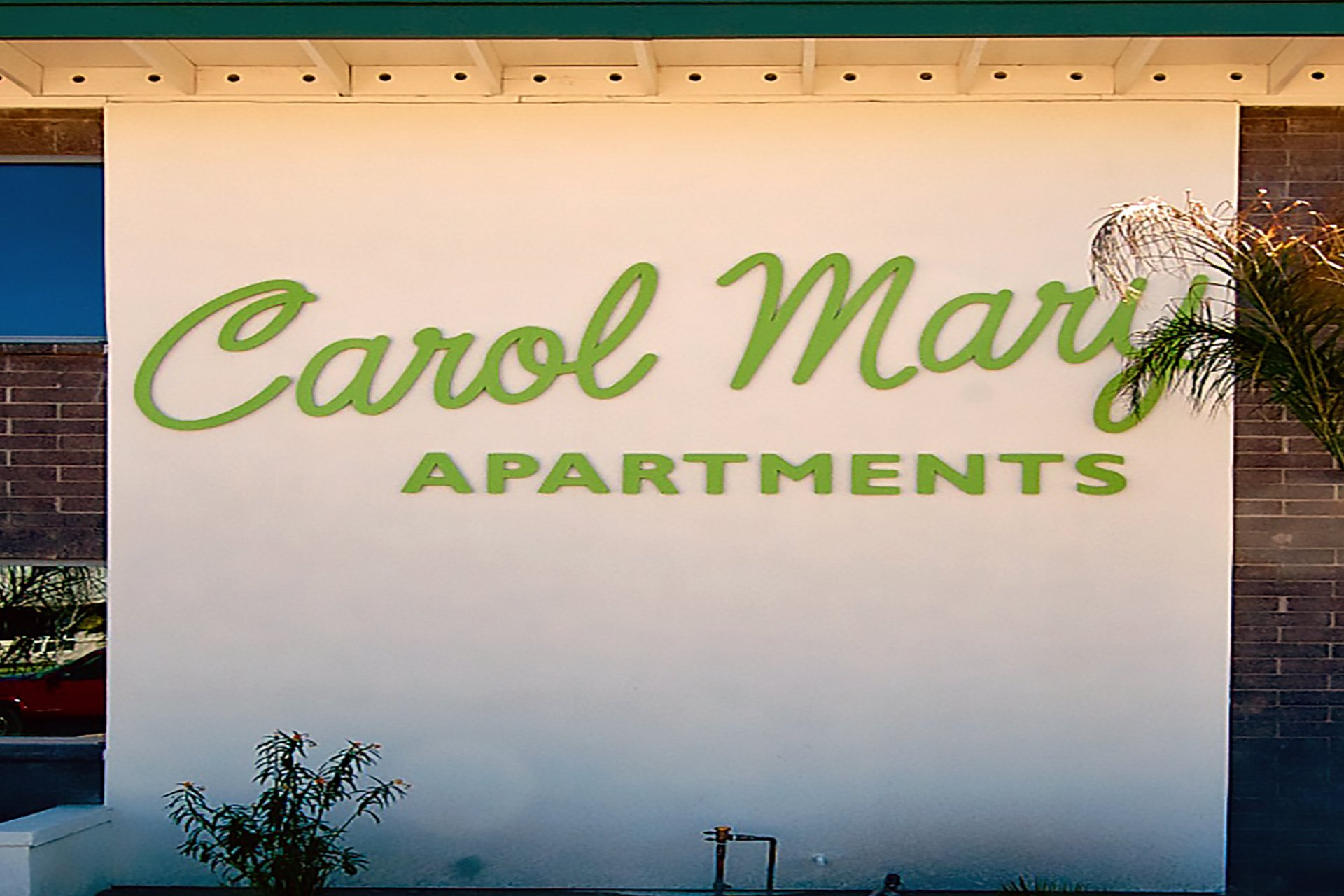Carol Mary Apartments Phoenix, AZ signage