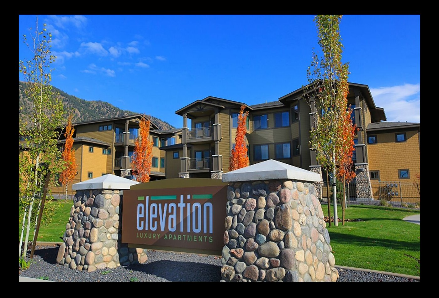 The Elevation Apartments Flagstaff, AZ signage