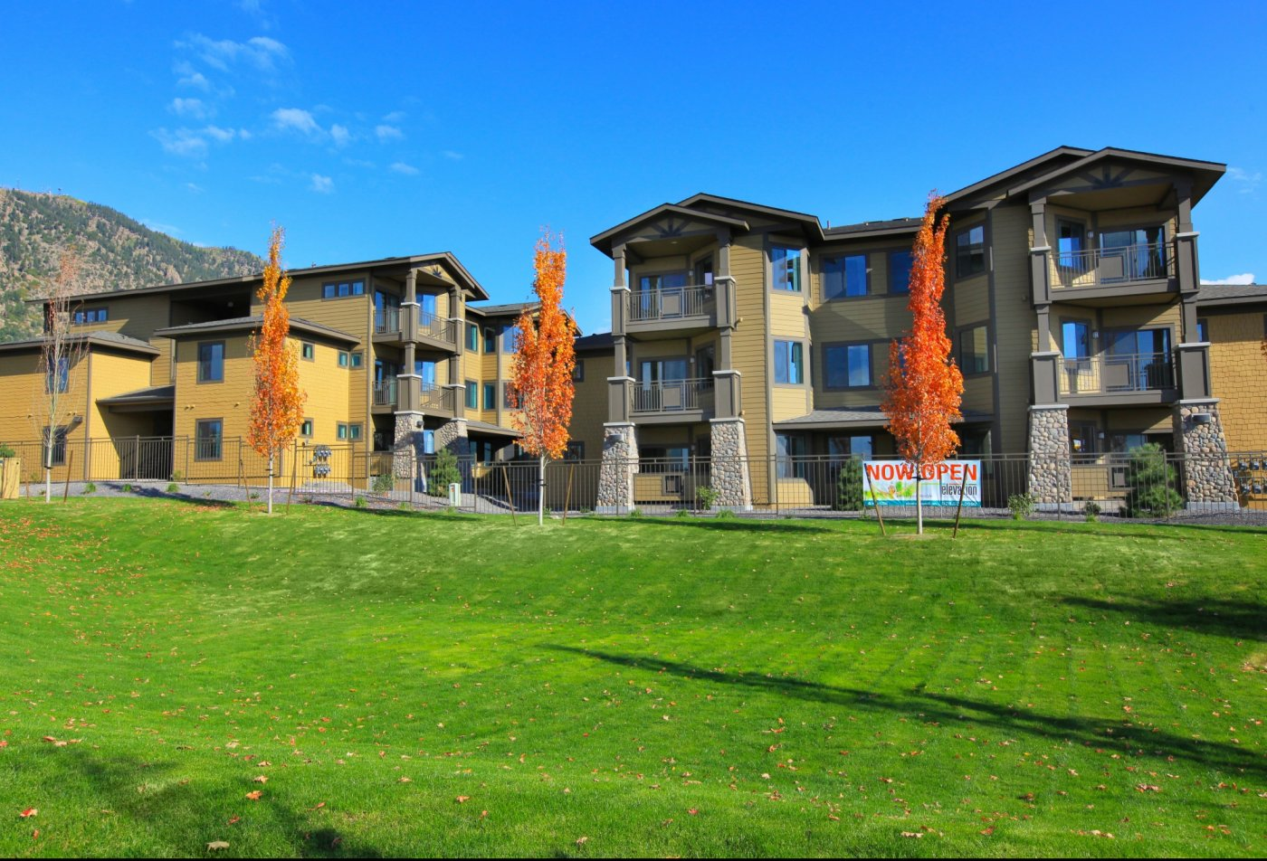 The Elevation Apartments Flagstaff, AZ exterior and landscaping