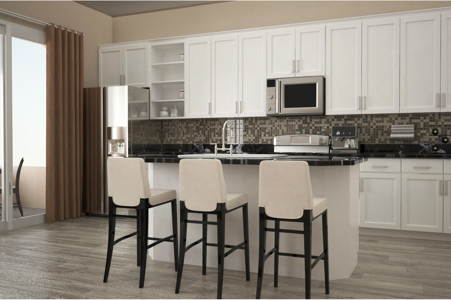 Lovely Bella Victoria Apartments Mesa, AZ Dining Room And Kitchen