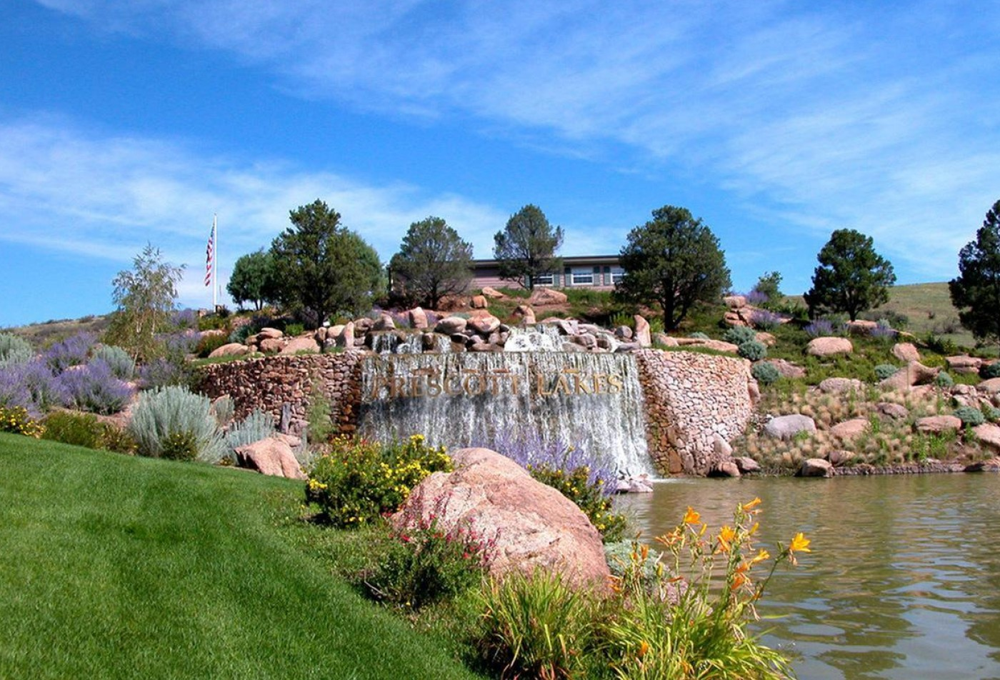Prescott Lakes Senior Apartments Prescott, AZ landscaping