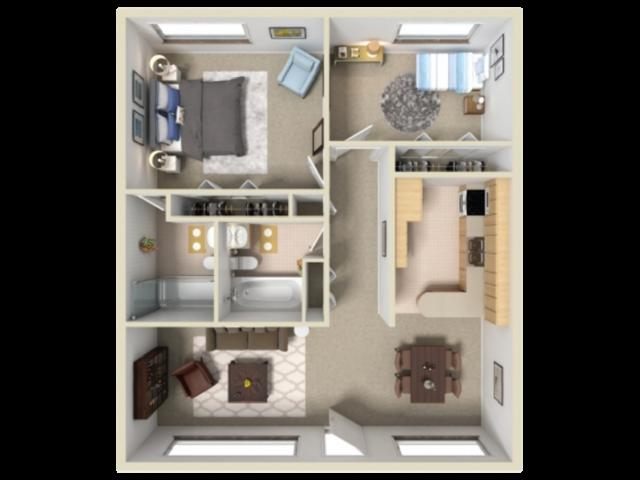 Catalina Vista 2 bedroom 2 bathroom apartments for rent floor plan Tucson   AZ. 1  2   3 Bedroom Apartment Floor Plans   Catalina Vista Affordable