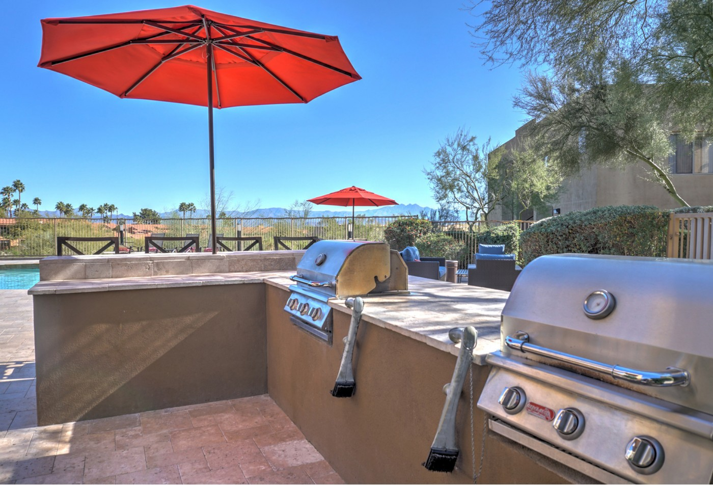 Ridge View Apartments Fountain Hills, AZ BBQ