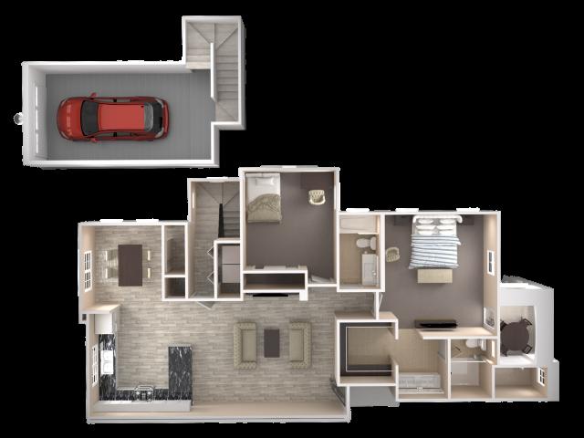 2 Bedroom Mesa Apartments For Az