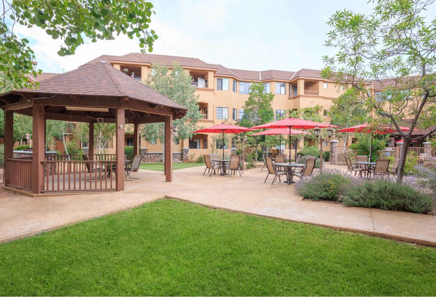 Prescott Lakes Senior Apartments Prescott, AZ lobby