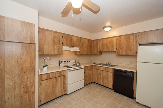 Kitchen at Acacia Gardens Apartments in Tucson, AZ