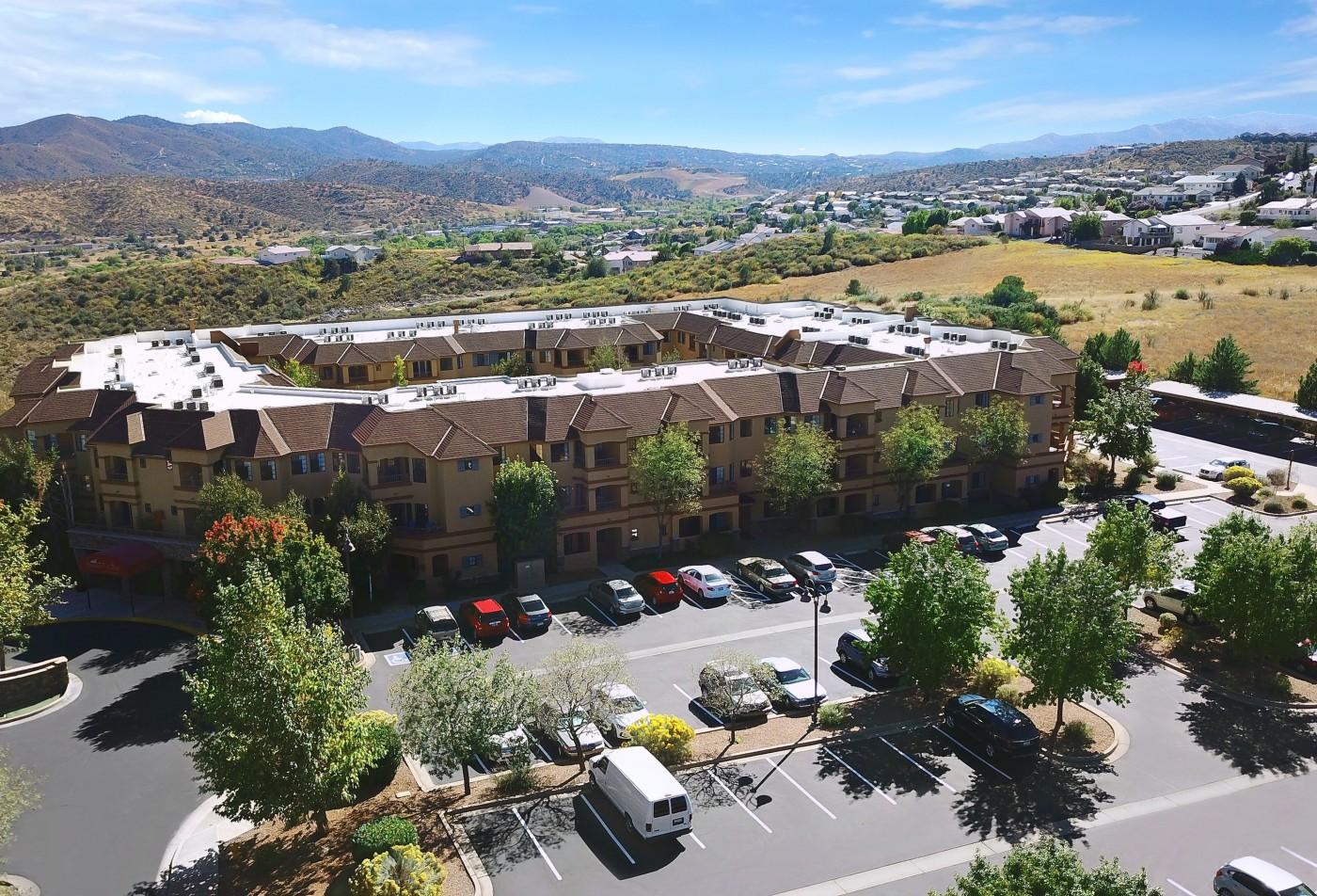 Prescott Lakes Senior Apartments Prescott, AZ arial