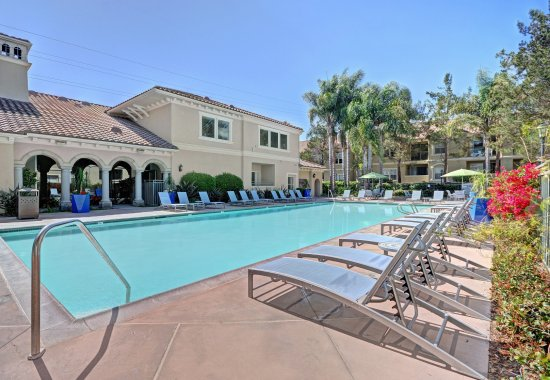 View of exterior at Windsor at Aviara Apartments in Carlsbad CA