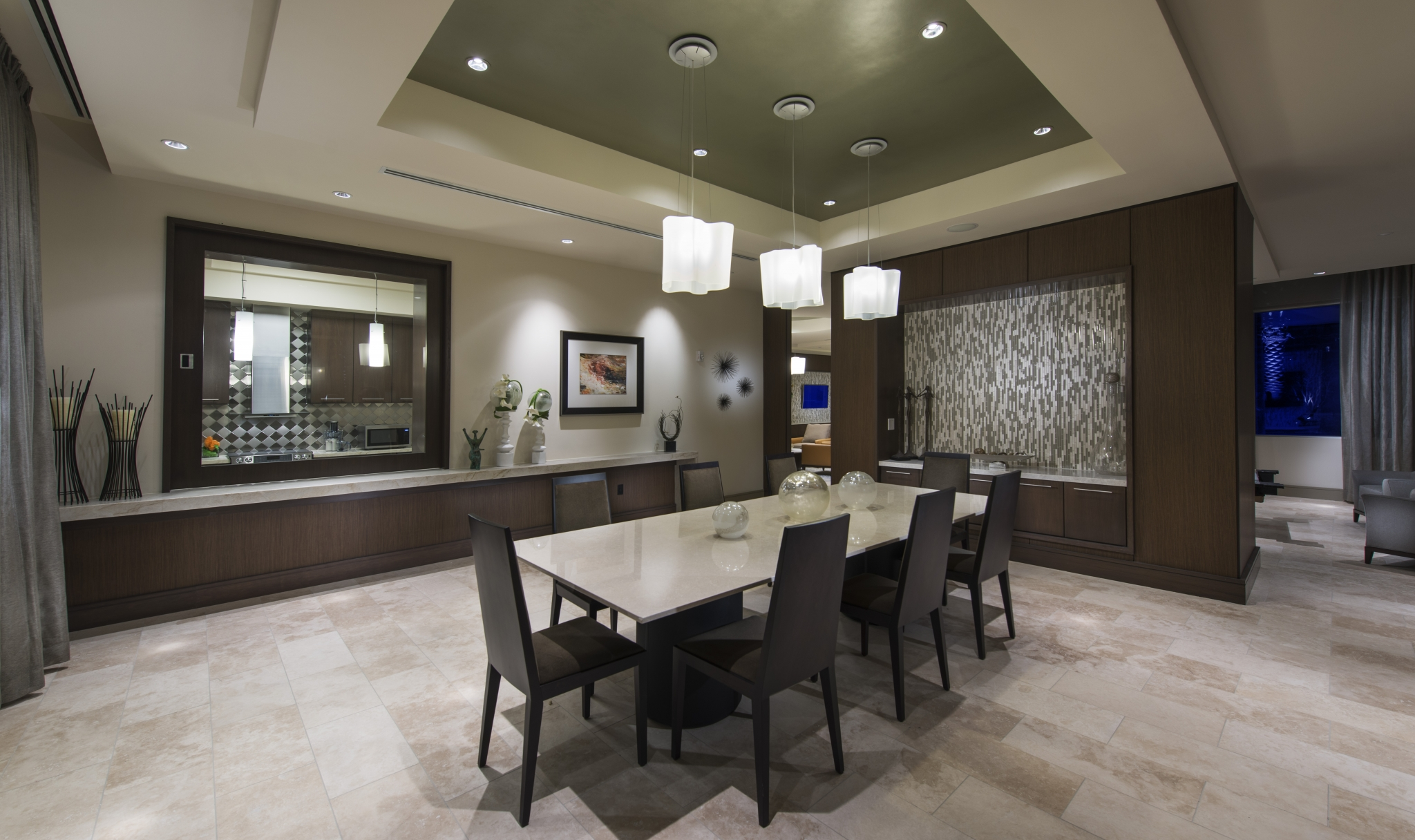 Image of Private lounge with exclusive Dining Room and fully-equipped Catering Kitchen for Hanover Post Oak
