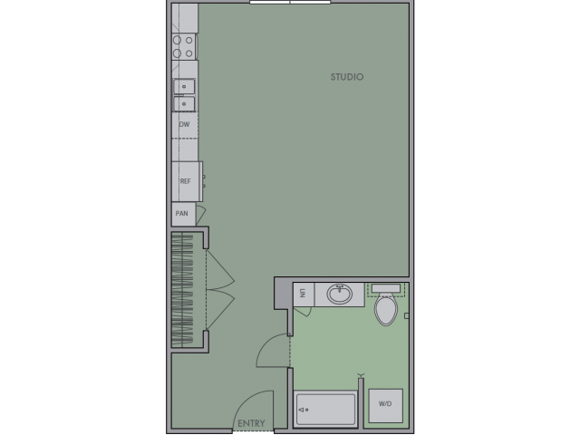 *Special Eco-Friendly Floor Plan