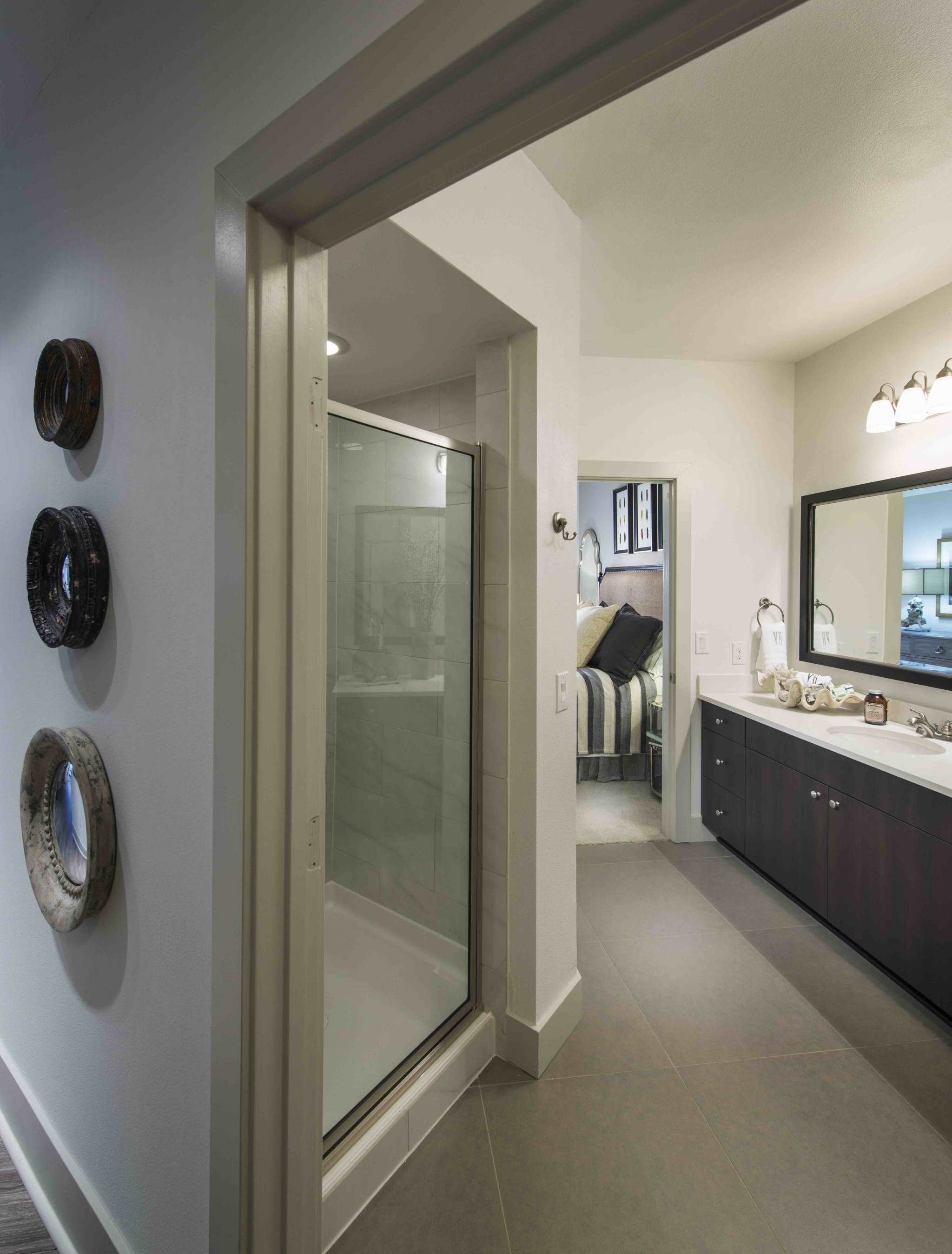 Image of Spa-like bathrooms with oversized soaking tubs for Viridian Design District