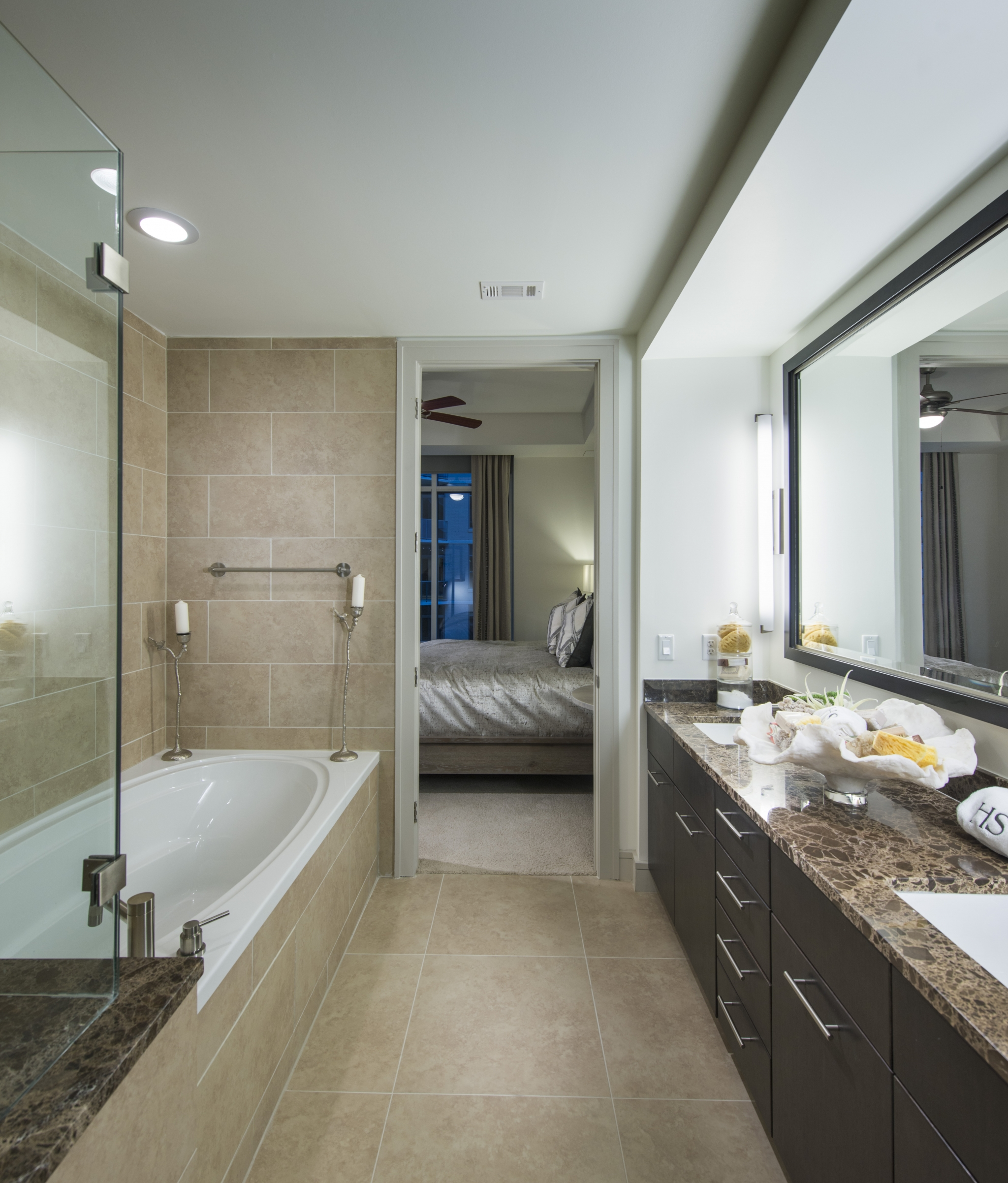 Image of Luxurious bathrooms with oval soaking tubs for Hanover Southampton