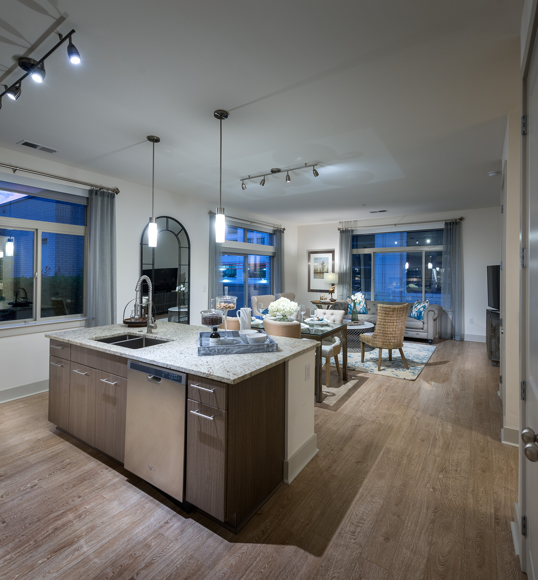 Image of Designer custom cabinetry and spacious kitchen islands for Hanover North Broad