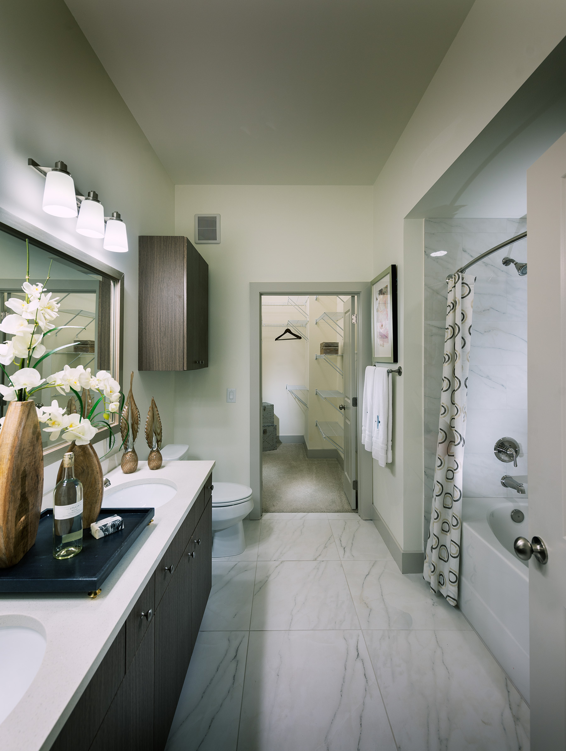 Image of Dual-vanity countertops and walk-in showers* for Hanover Cross Street