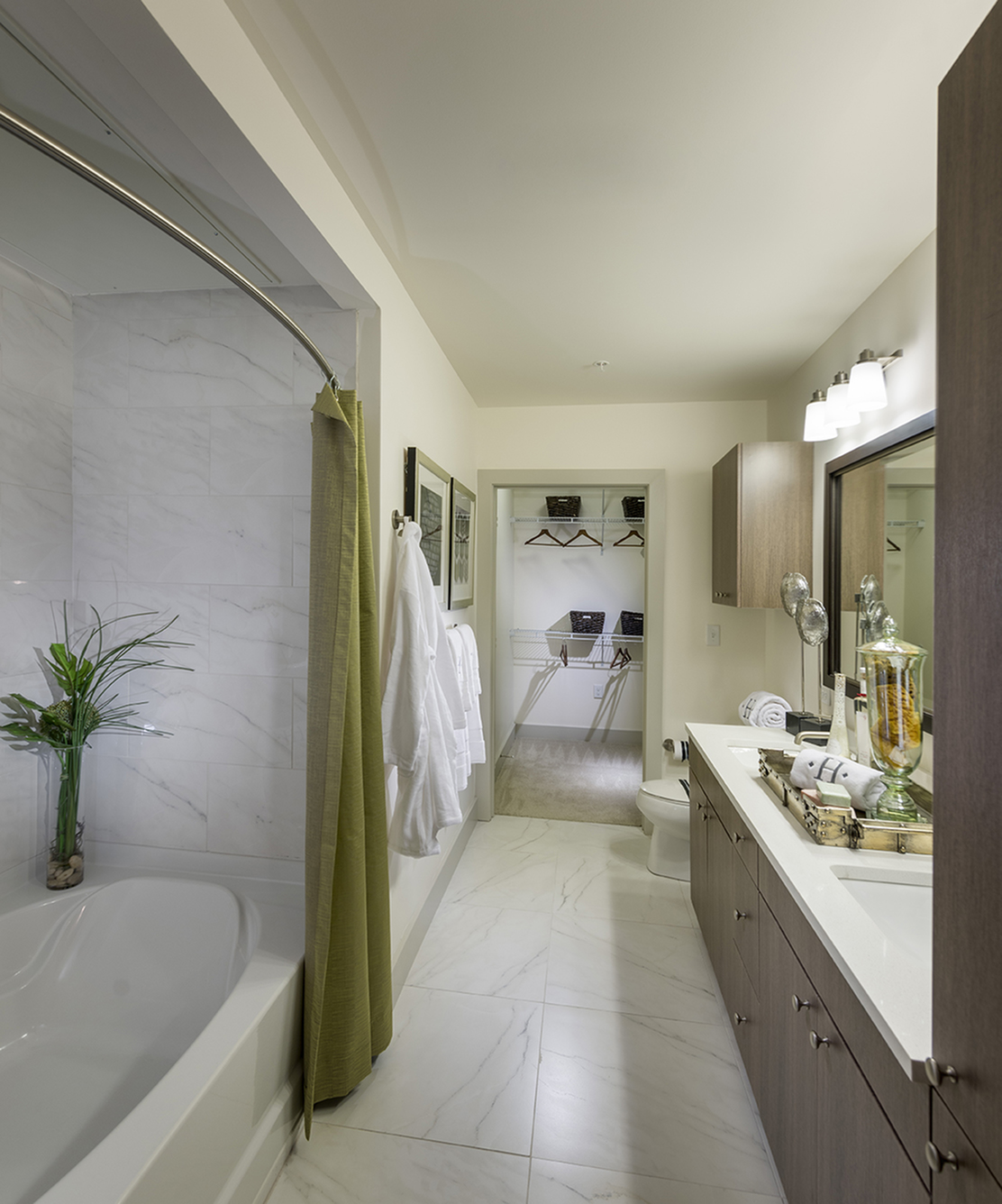 Image of Spa-inspired bathrooms with large soaking tub for Hanover Alewife