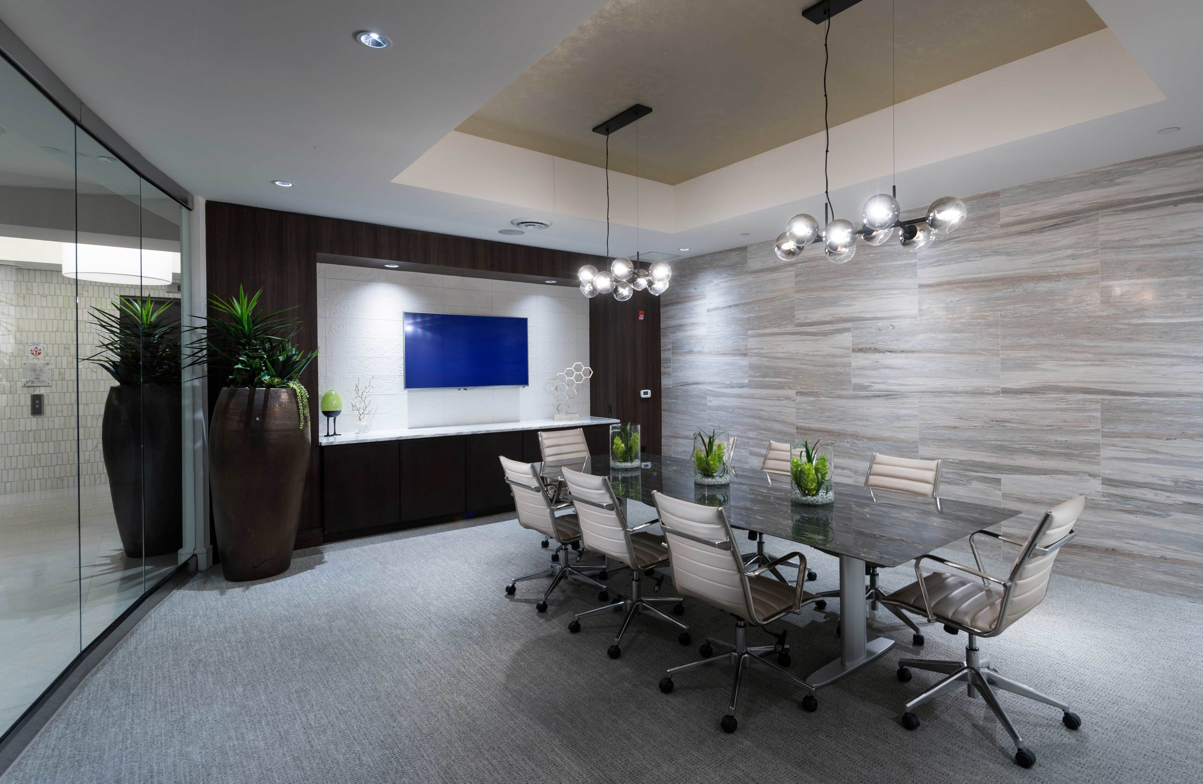 Executive conference and dining room at Hanover North Broad