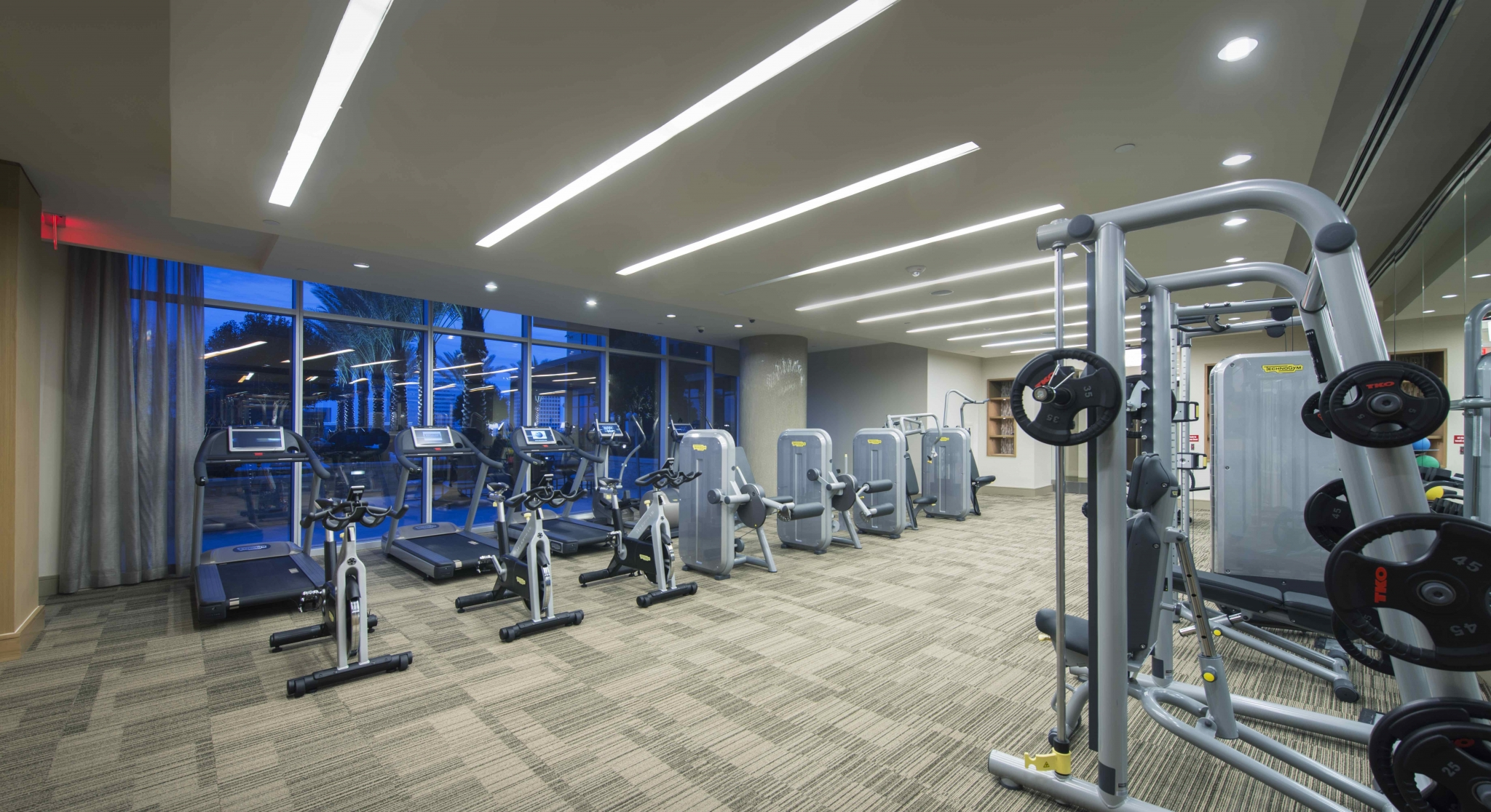 24-Hr Fitness Center at Hanover Post Oak