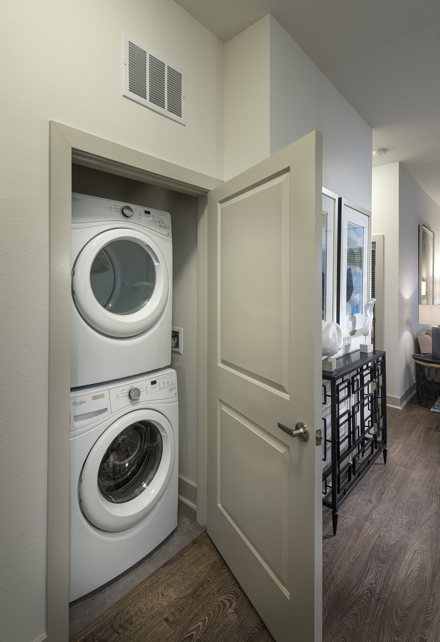 Image of Full-size high-efficiency washer and dryer for Hanover Mission Gorge