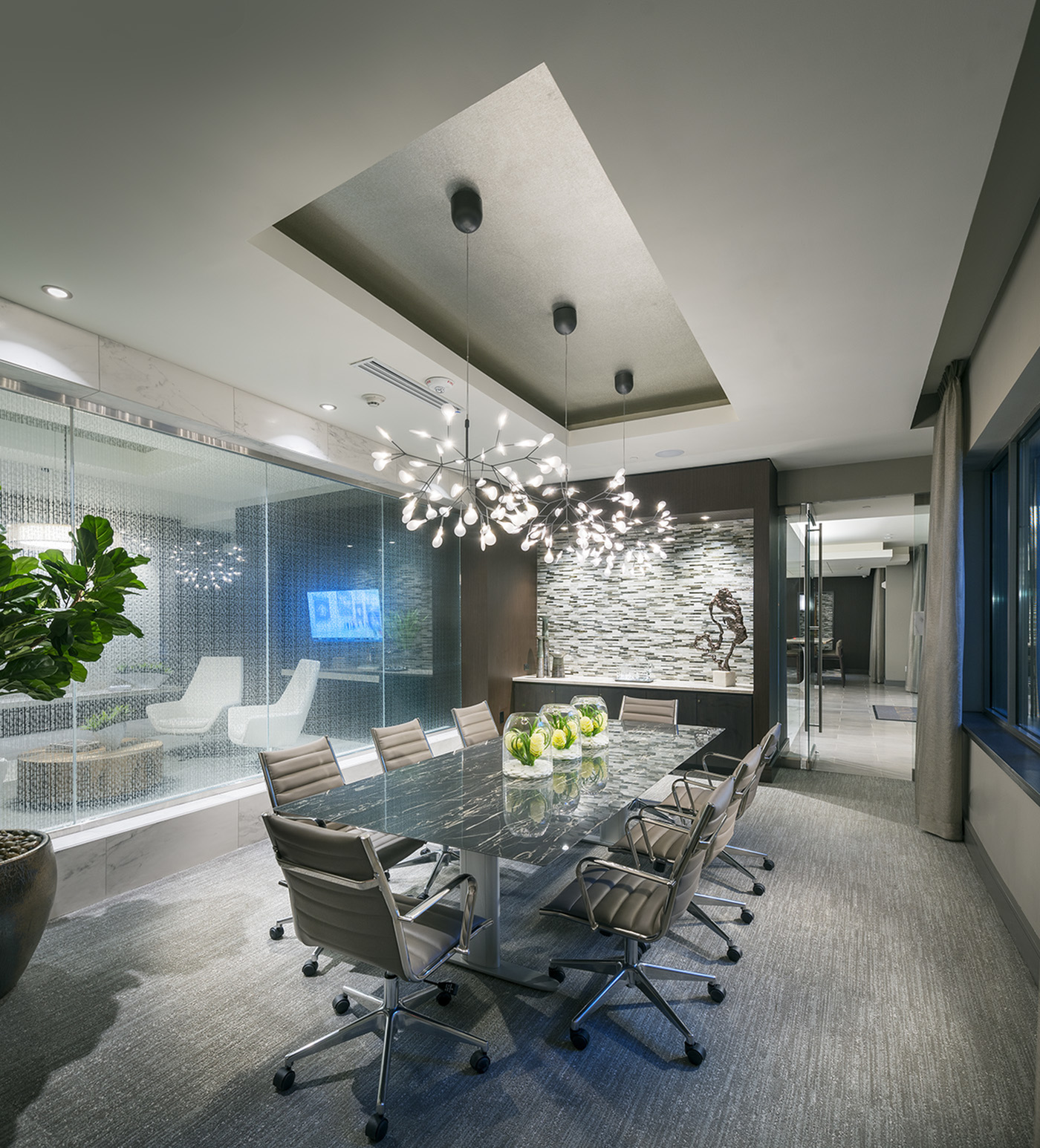 Image of Private dining/conference room for Hanover West Peachtree