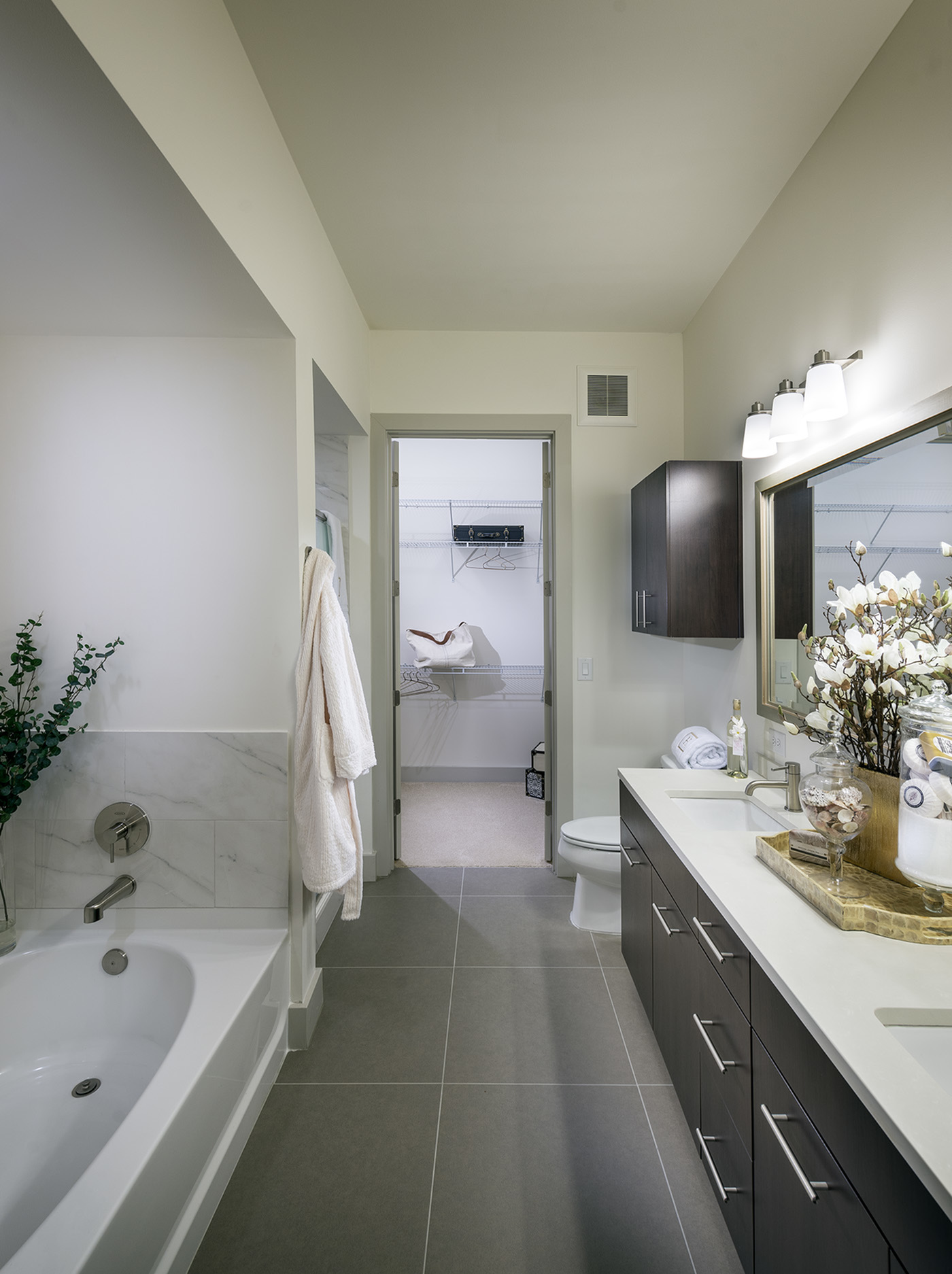 Image of Spa-inspired bathrooms with large soaking tubs* for Hanover West Peachtree