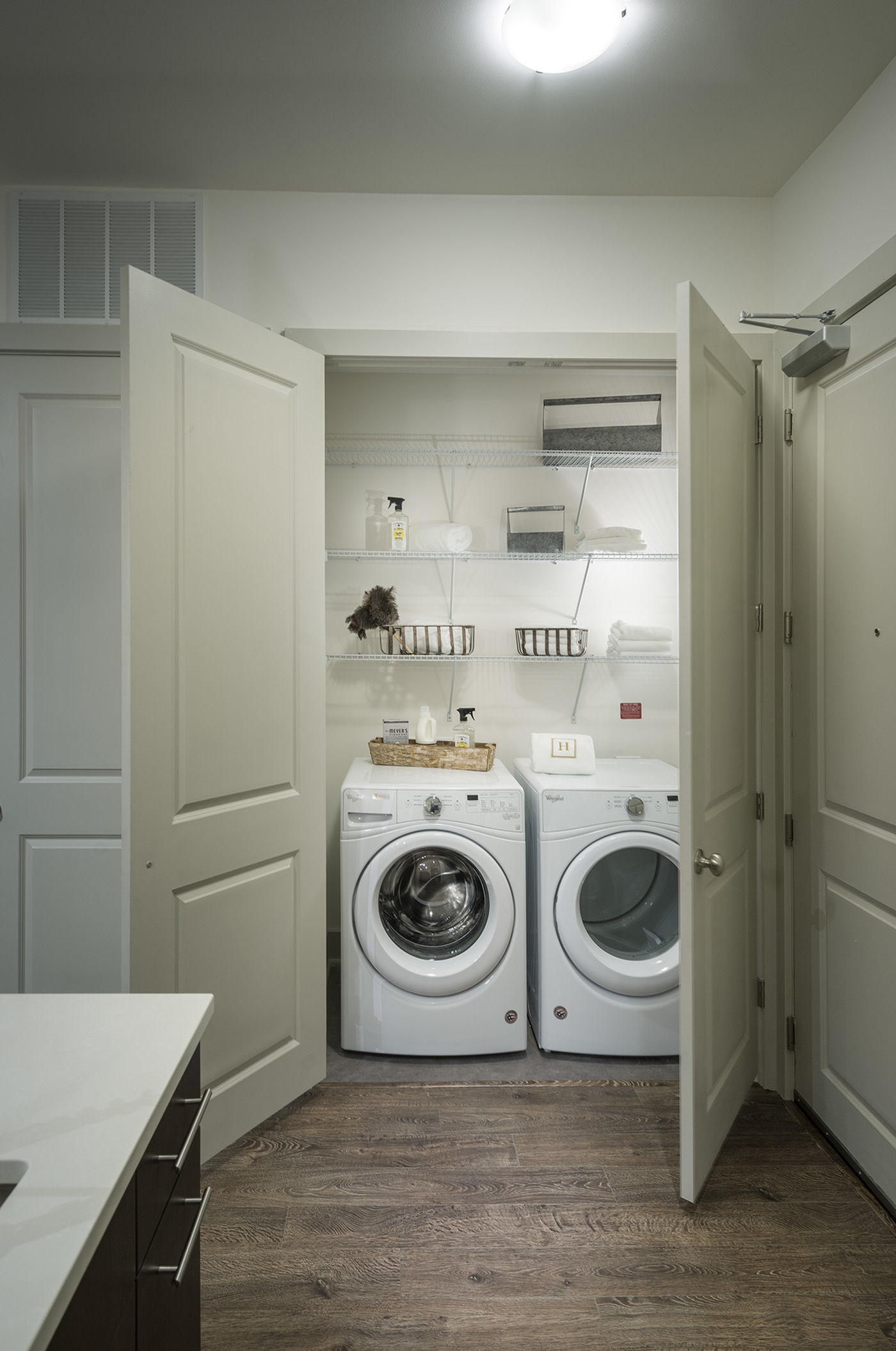Image of Full-size high-efficiency washer and dryers for Hanover West Peachtree