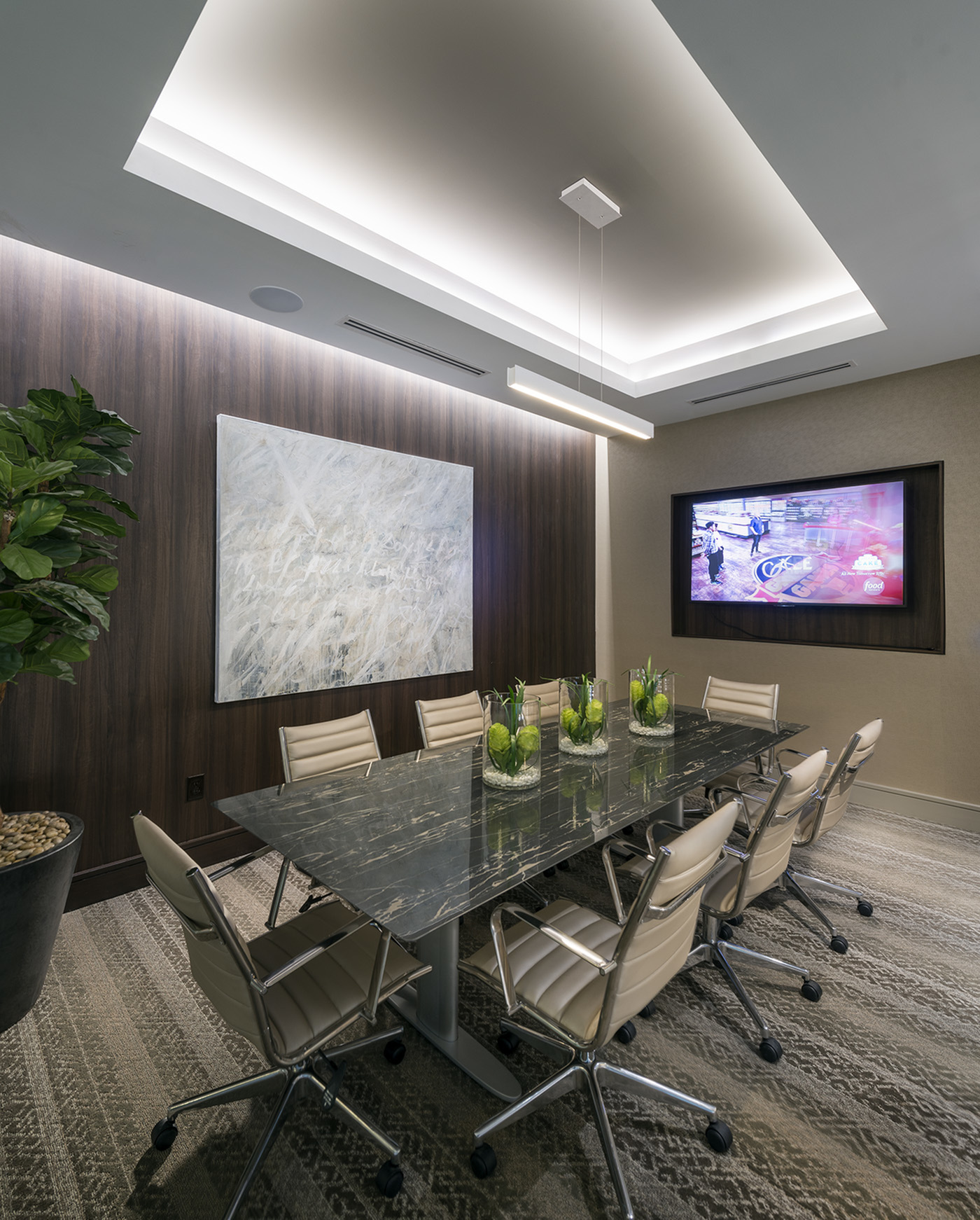 Image of Executive conference room with presentation capabilities for Hanover Perimeter
