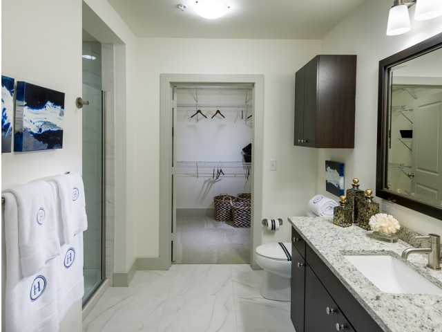 Image of Dual-vanity countertops and walk-in showers* for Hanover Alewife