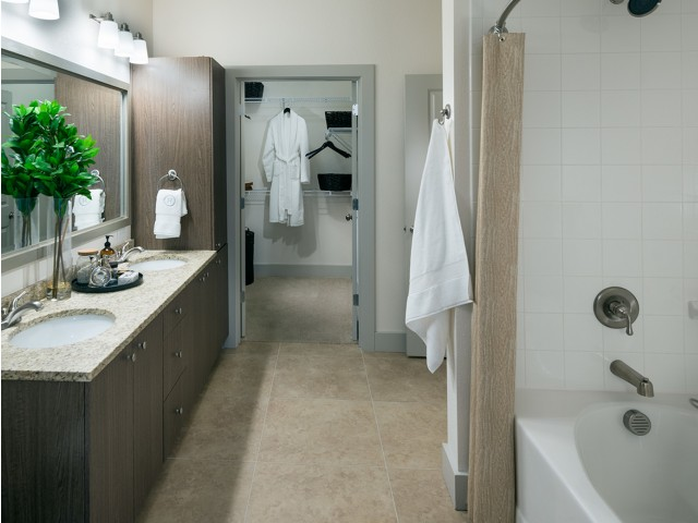 Image of Dual-vanity countertops and walk-in showers* for Hanover Midtown Park