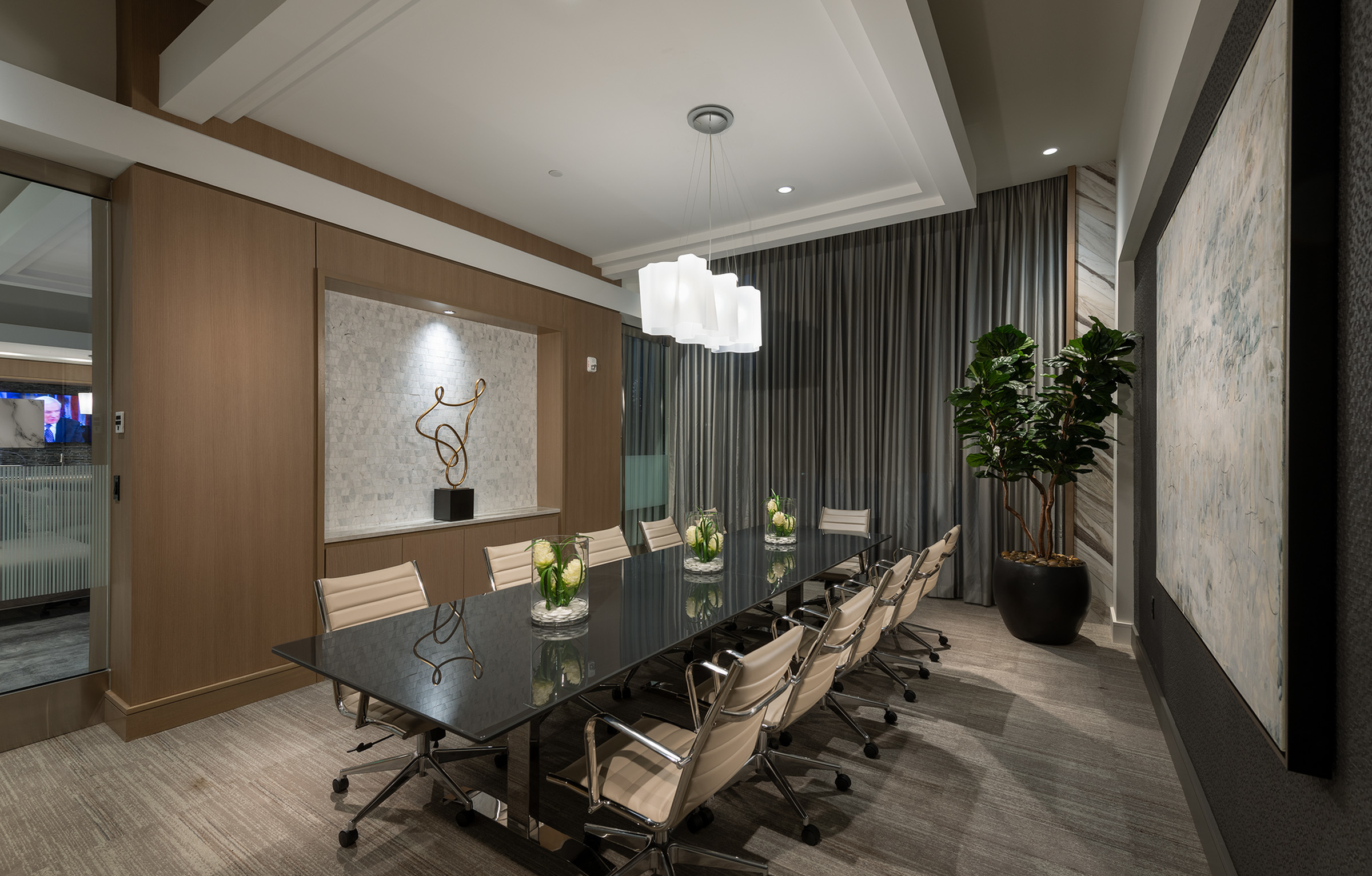 Image of Executive conference room with presentation capabilities for Hanover Platt Park