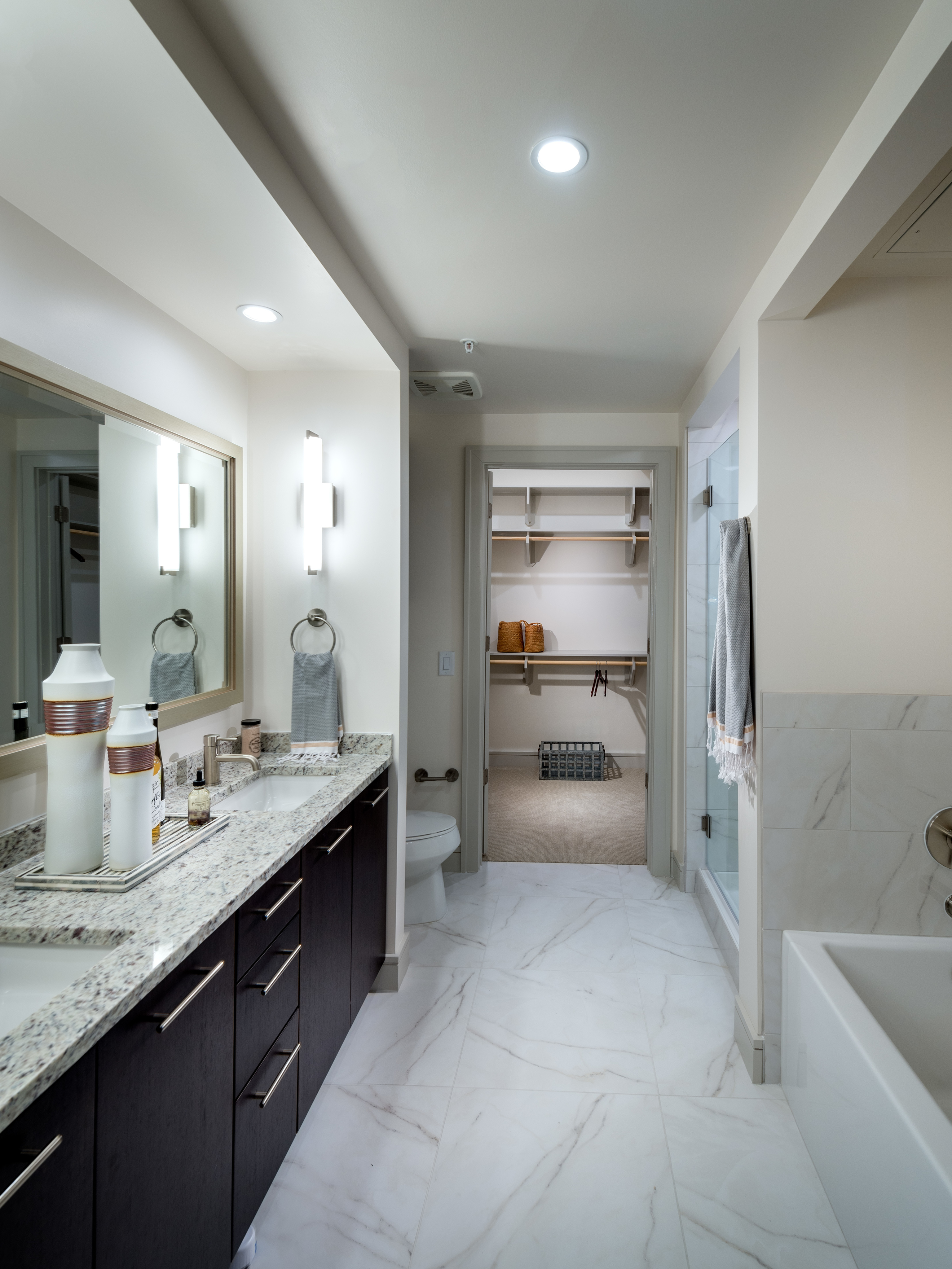 Image of Spa-Inspired Bathrooms with Frameless Glass Showers and Oversized Soaking Tubs* for Hanover Midtown