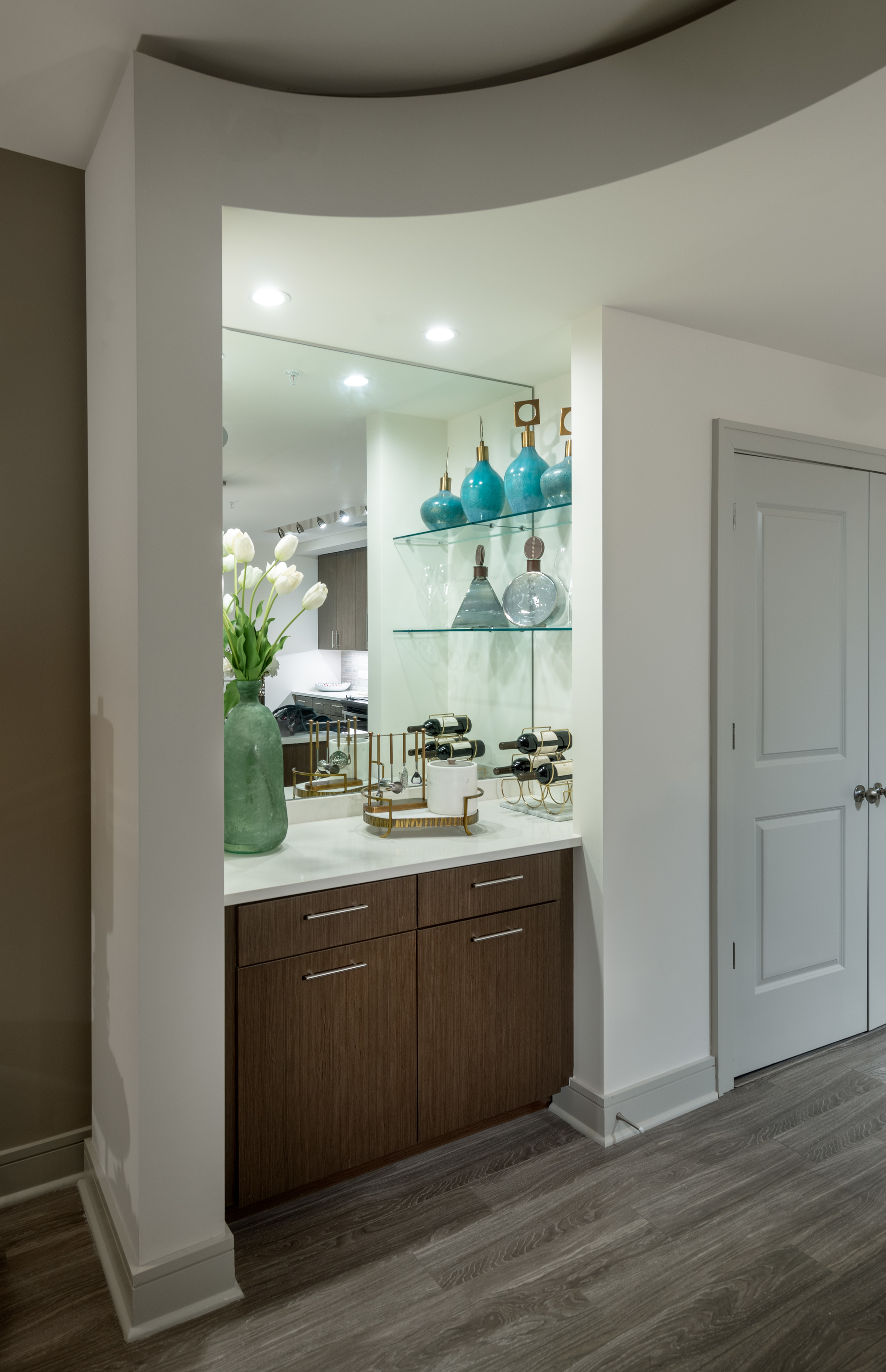 Image of Select Home Features: Dry Bar, Built-In Desks, Double Ovens and Terraces* for Hanover Midtown