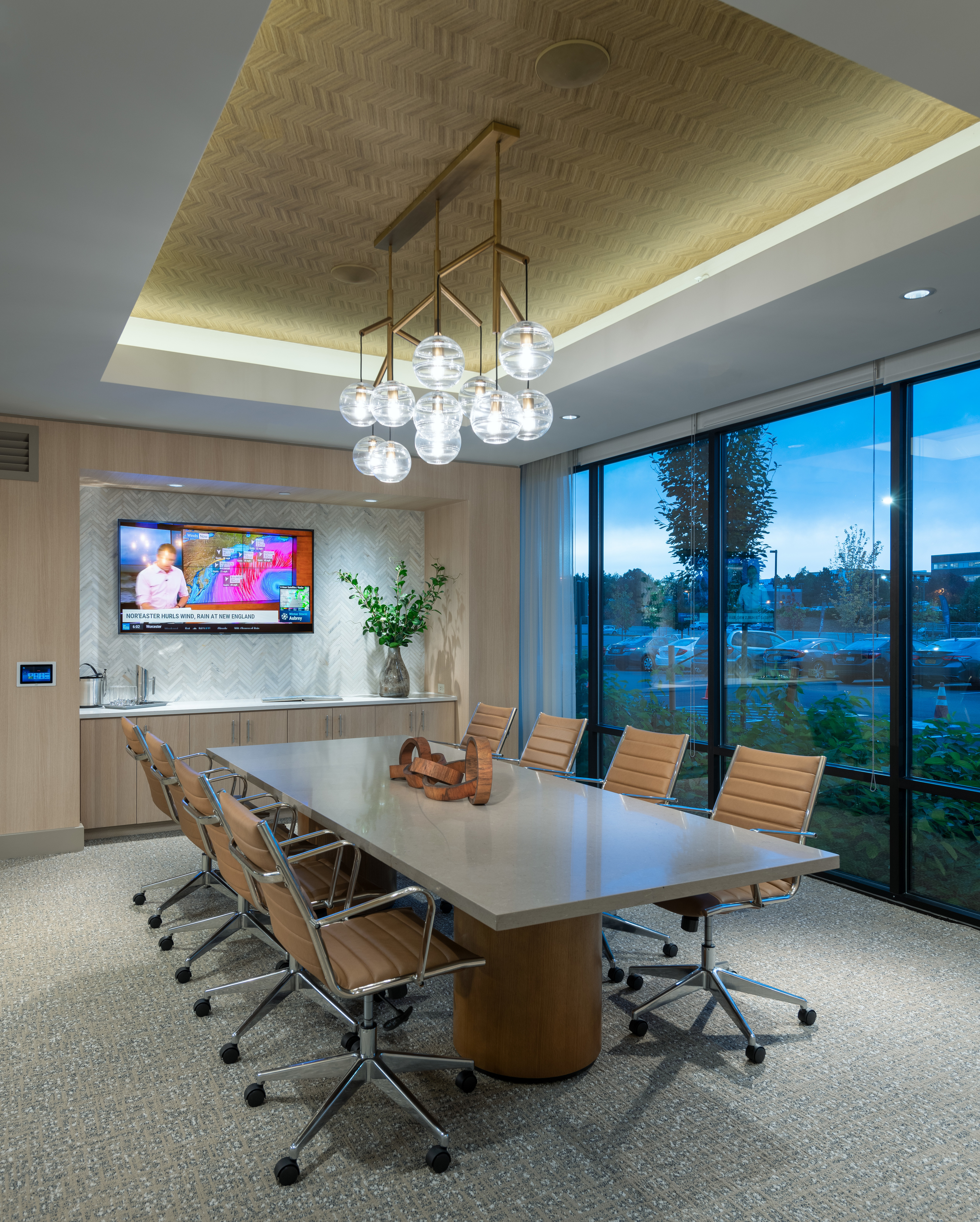Executive conference rooms with presentation tv at Hanover Westford Valley