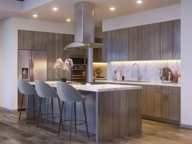 Representational Image - Penthouse Kitchen