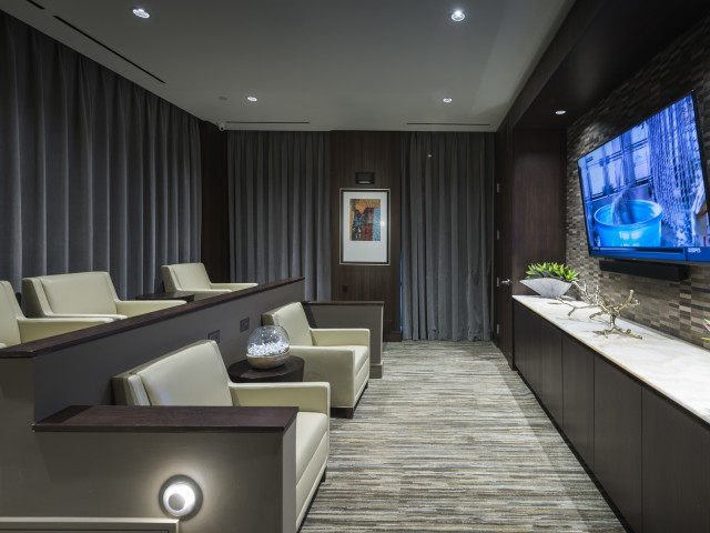 Private Media Room Featuring 147