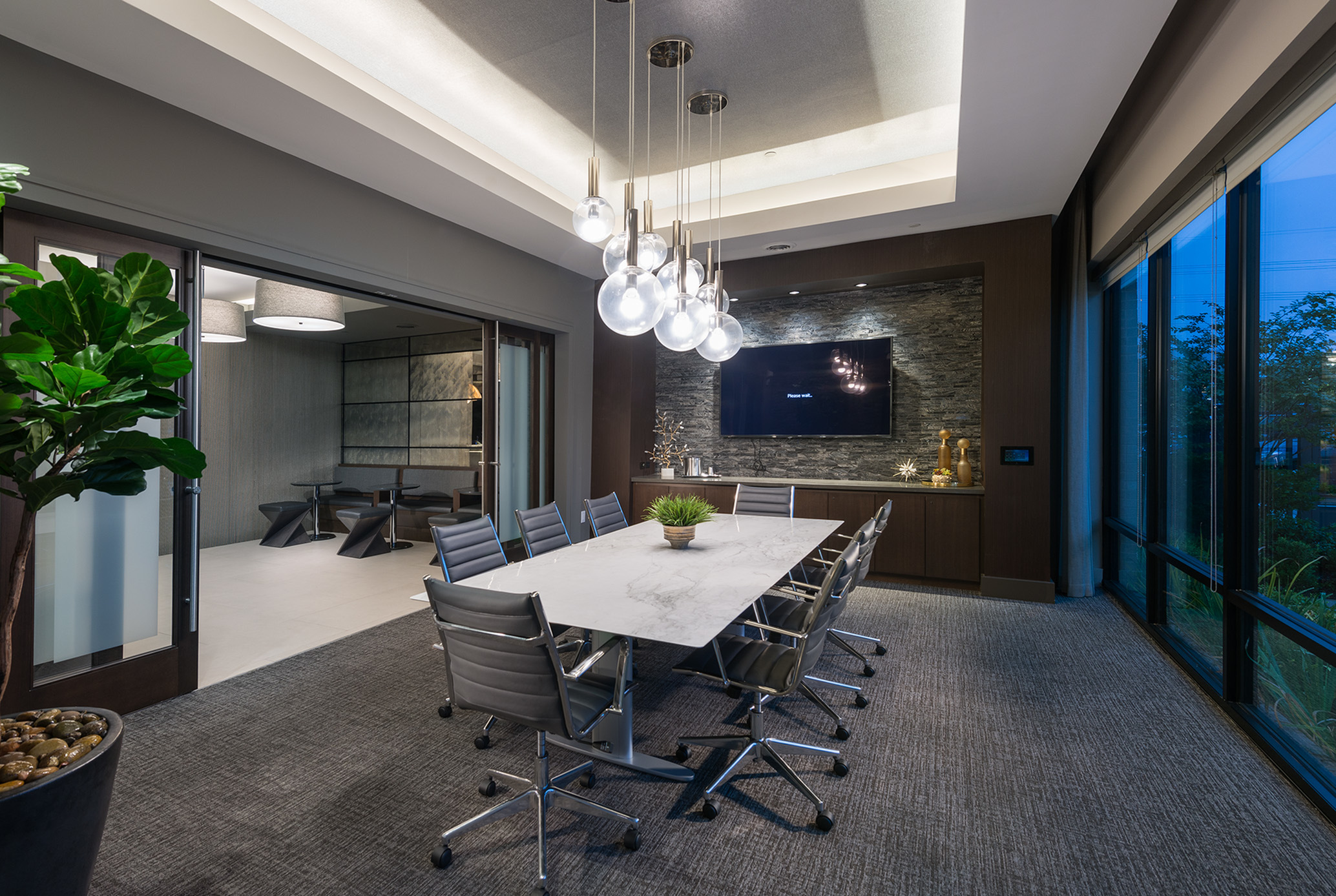 Private Conference and Dining Room at Hanover Midtown Park