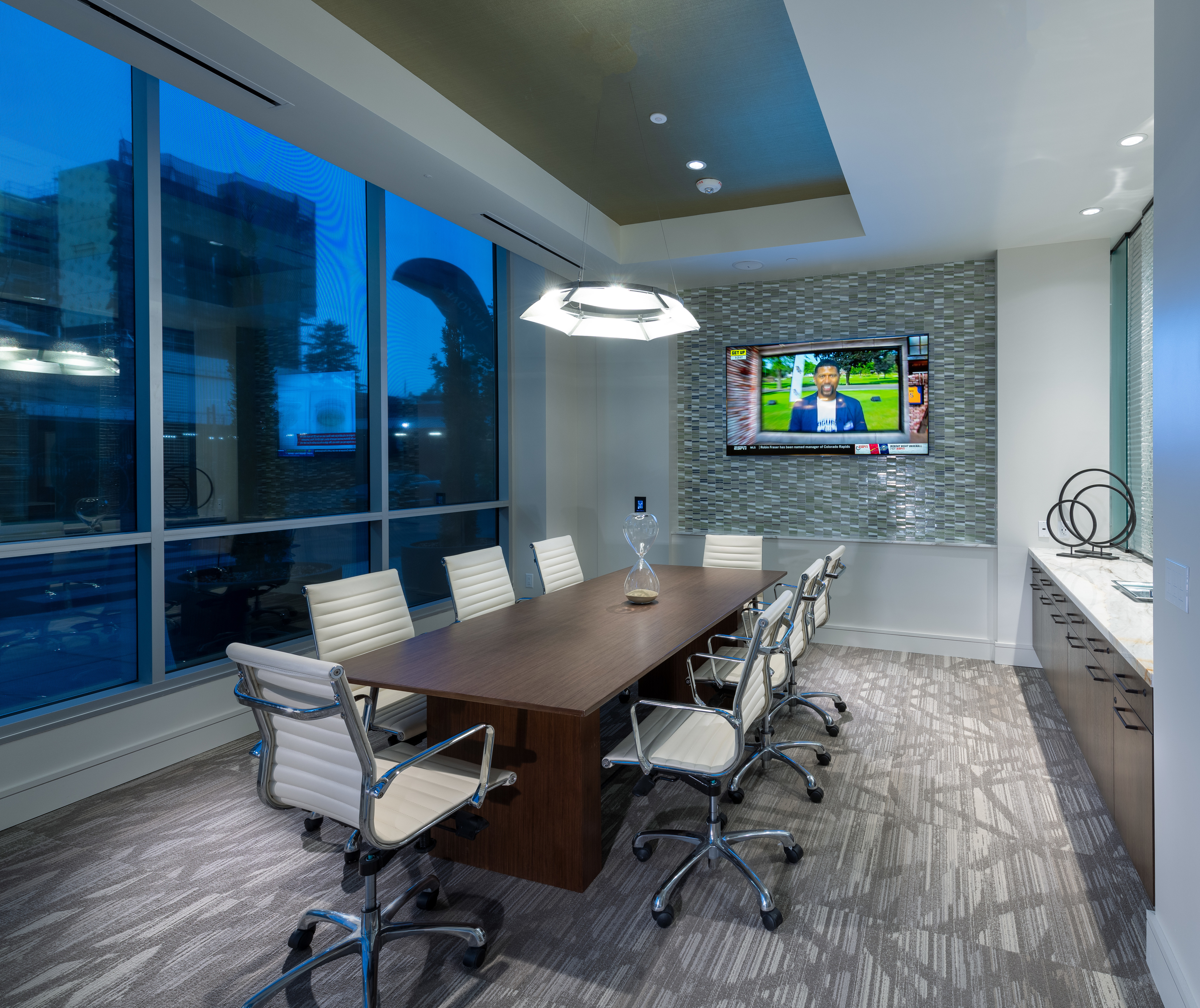 Executive conference room with presentation tv at Hanover Northgate