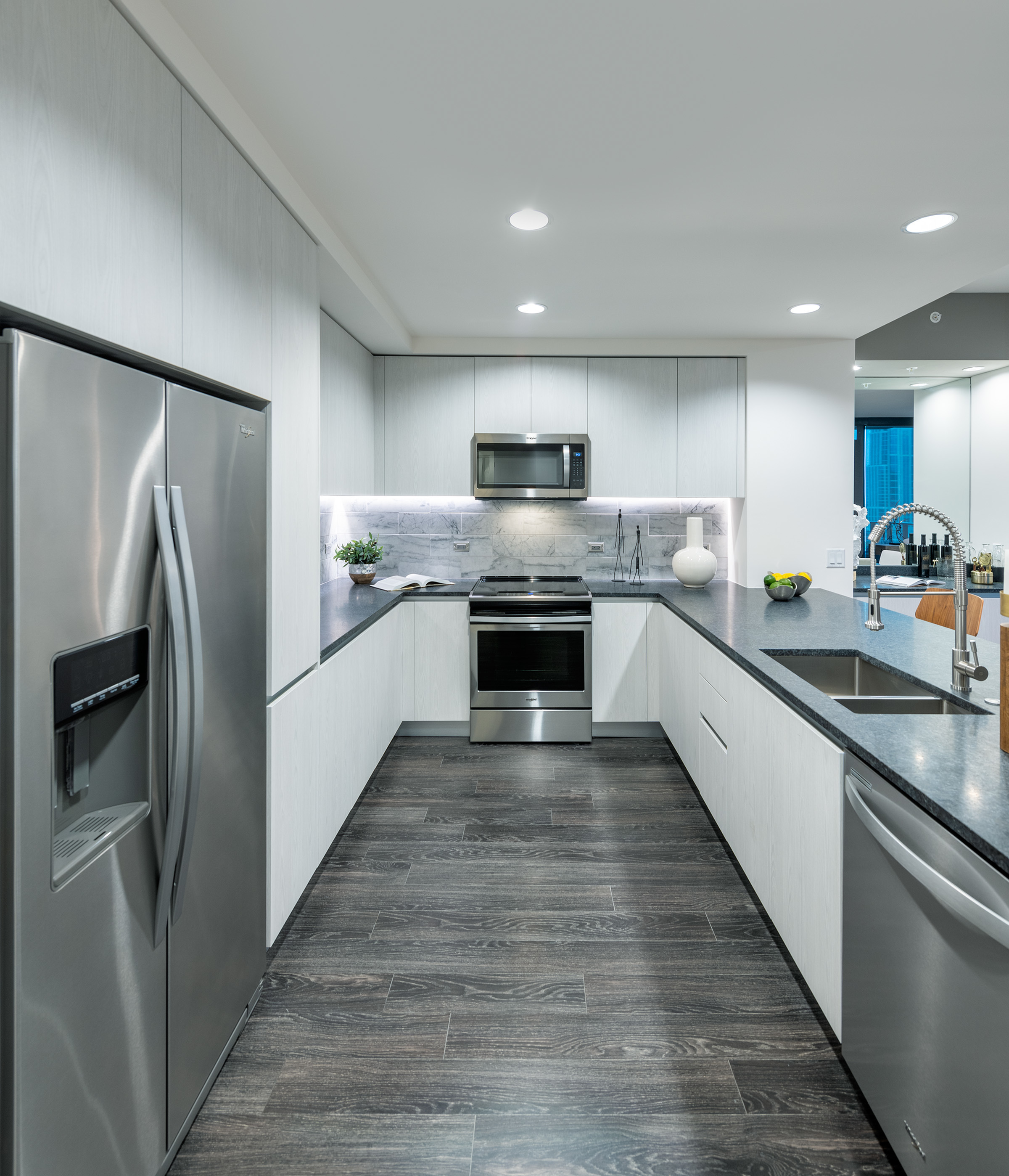 Chef-Inspired Kitchens with Stainless Steel Appliances