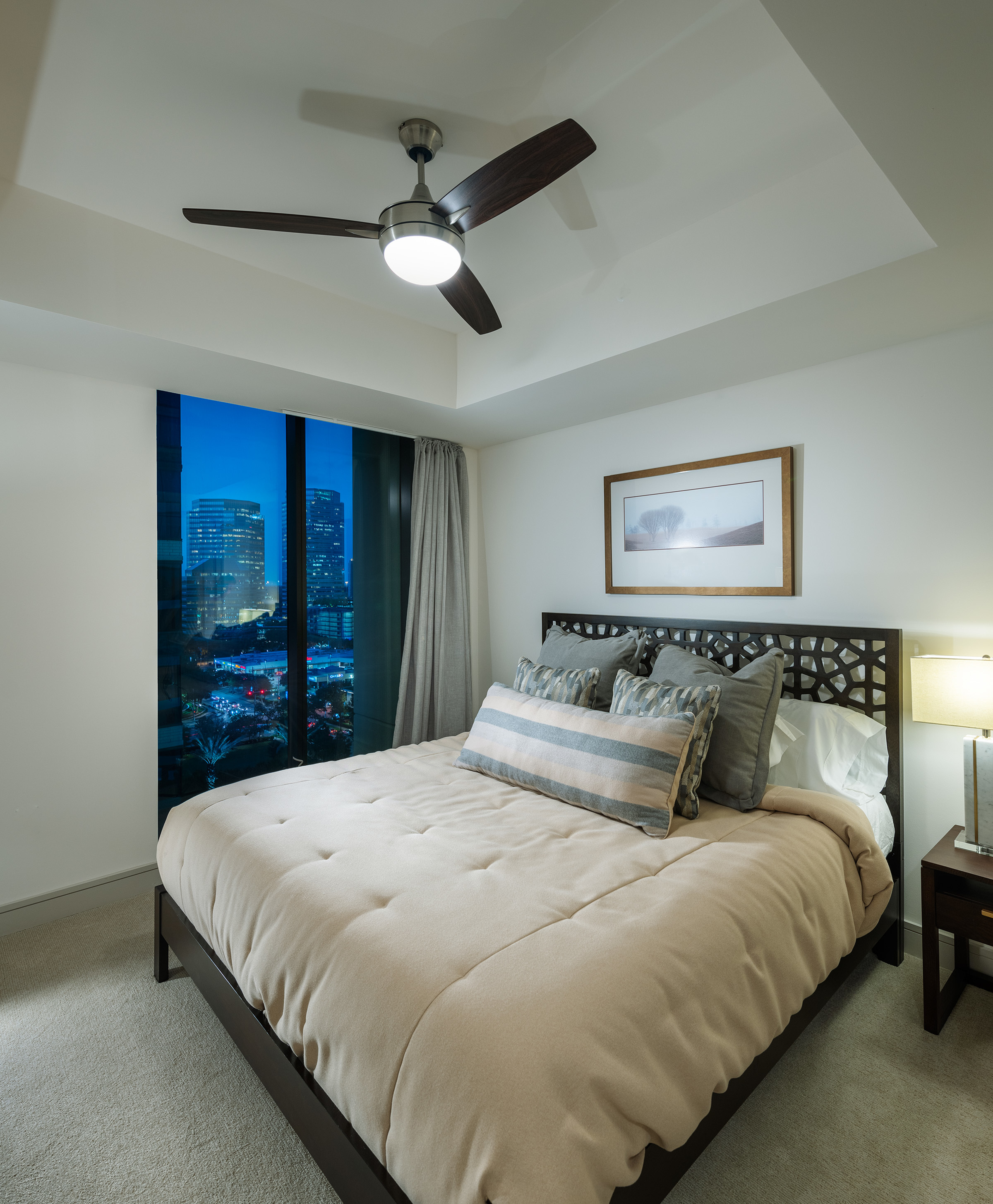 Spacious Bedrooms that Accommodate King Size Beds