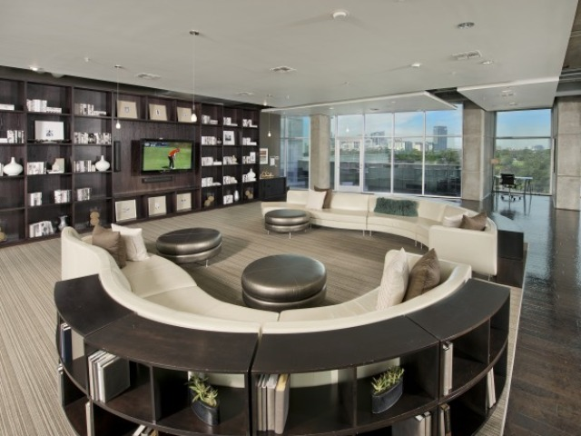 Resident Social Lounge with Fully-equipped Catering Kitchen