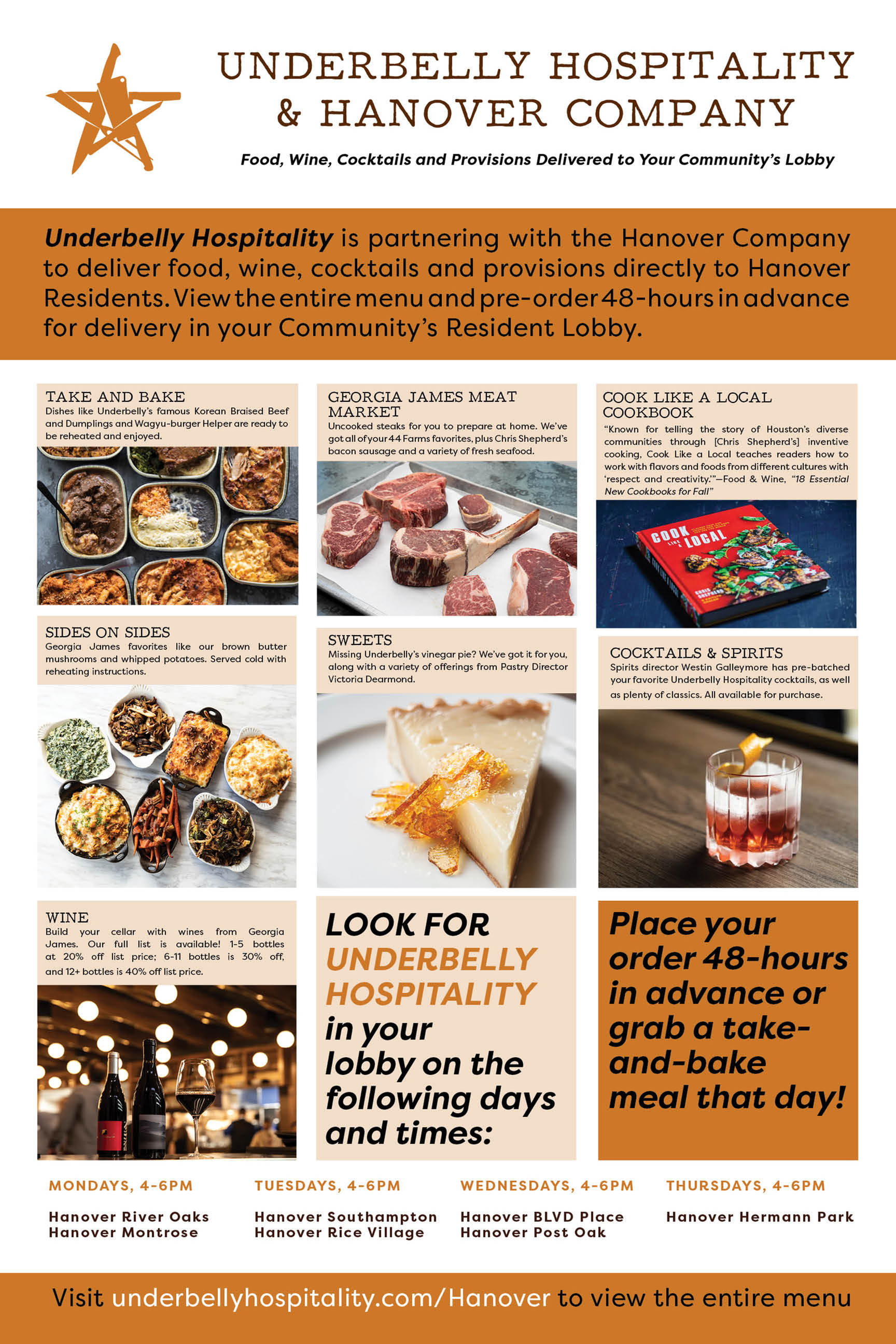 Underbelly Hospitality & Hanover Company: Delivered to Your Community Lobby-image