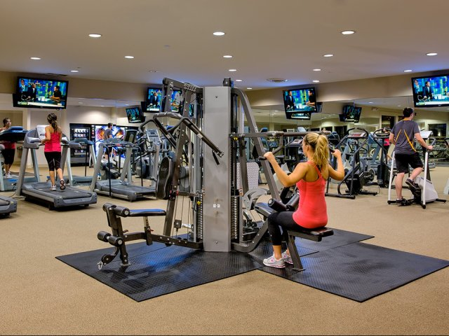Image of Fitness Center with Cybex Fitness Equipment for Schaumburg- International Village