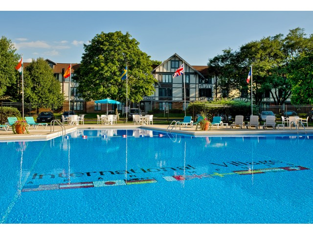 Image of Outdoor swimming pool for Lombard- International Village
