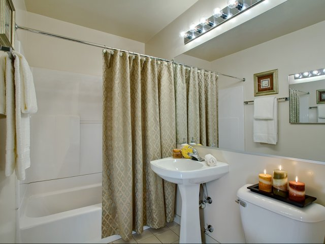 Image of Pedestal sinks for Briarwood Terrace Apartments
