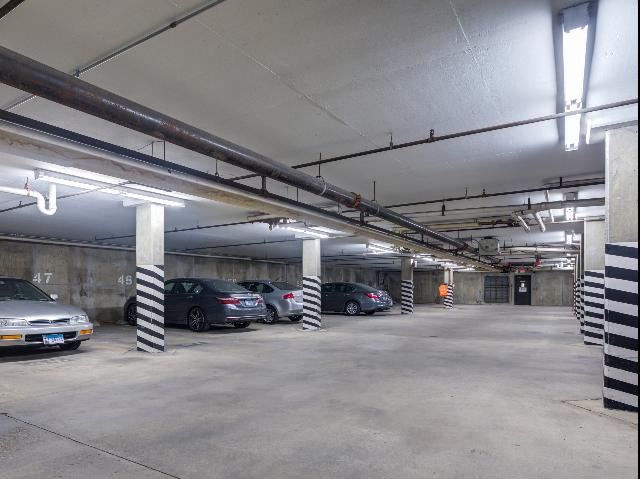 Attached garage parking