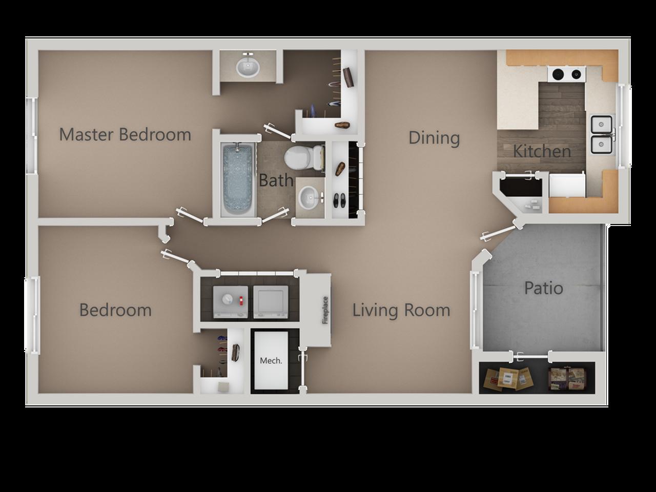 Spacious West Jordan Apartment